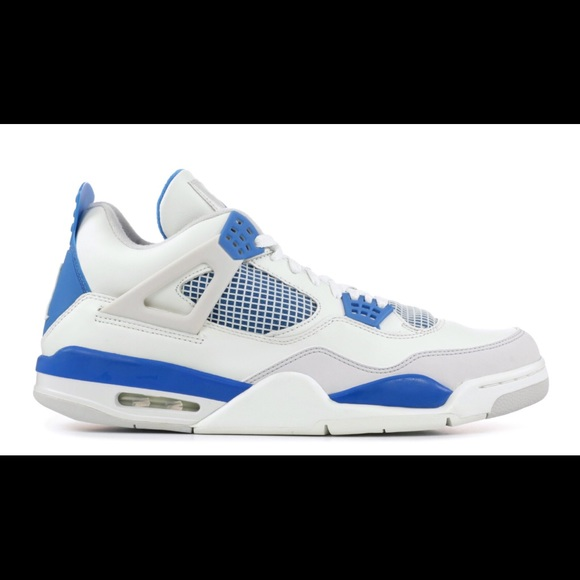 online store 966aa 23b96 Military Blue Jordan 4s